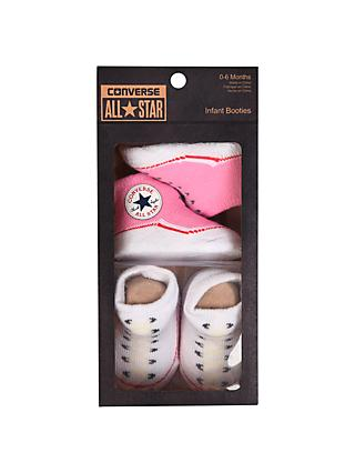 Converse Baby Booties, Pack of 2, Pink