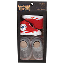 Buy Converse Baby Booties, Pack of 2, Red Online at johnlewis.com