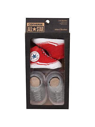 Converse Baby Booties, Pack of 2, Red