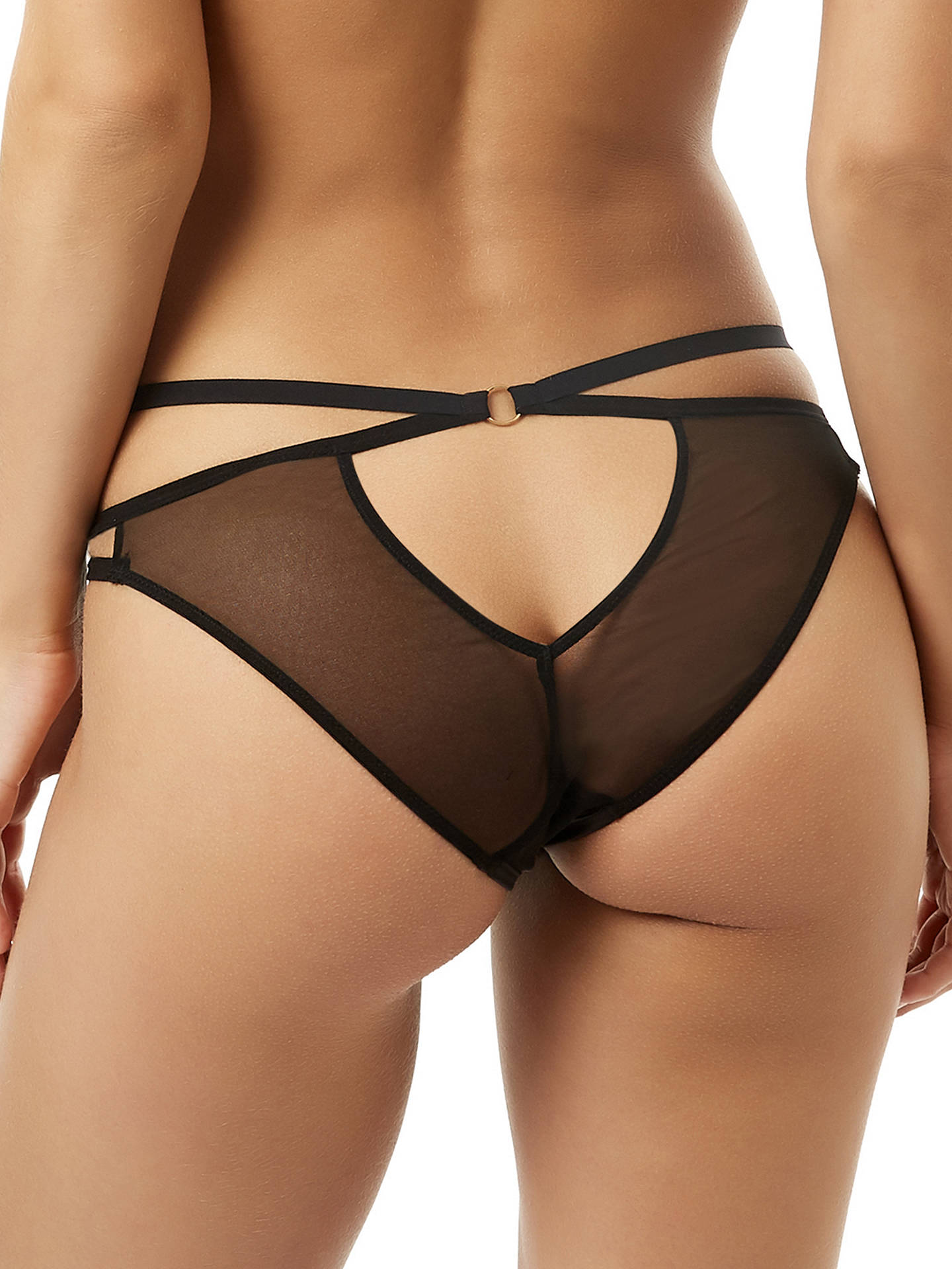 Buy Bluebella Julienne Briefs, Black, 8 Online at johnlewis.com