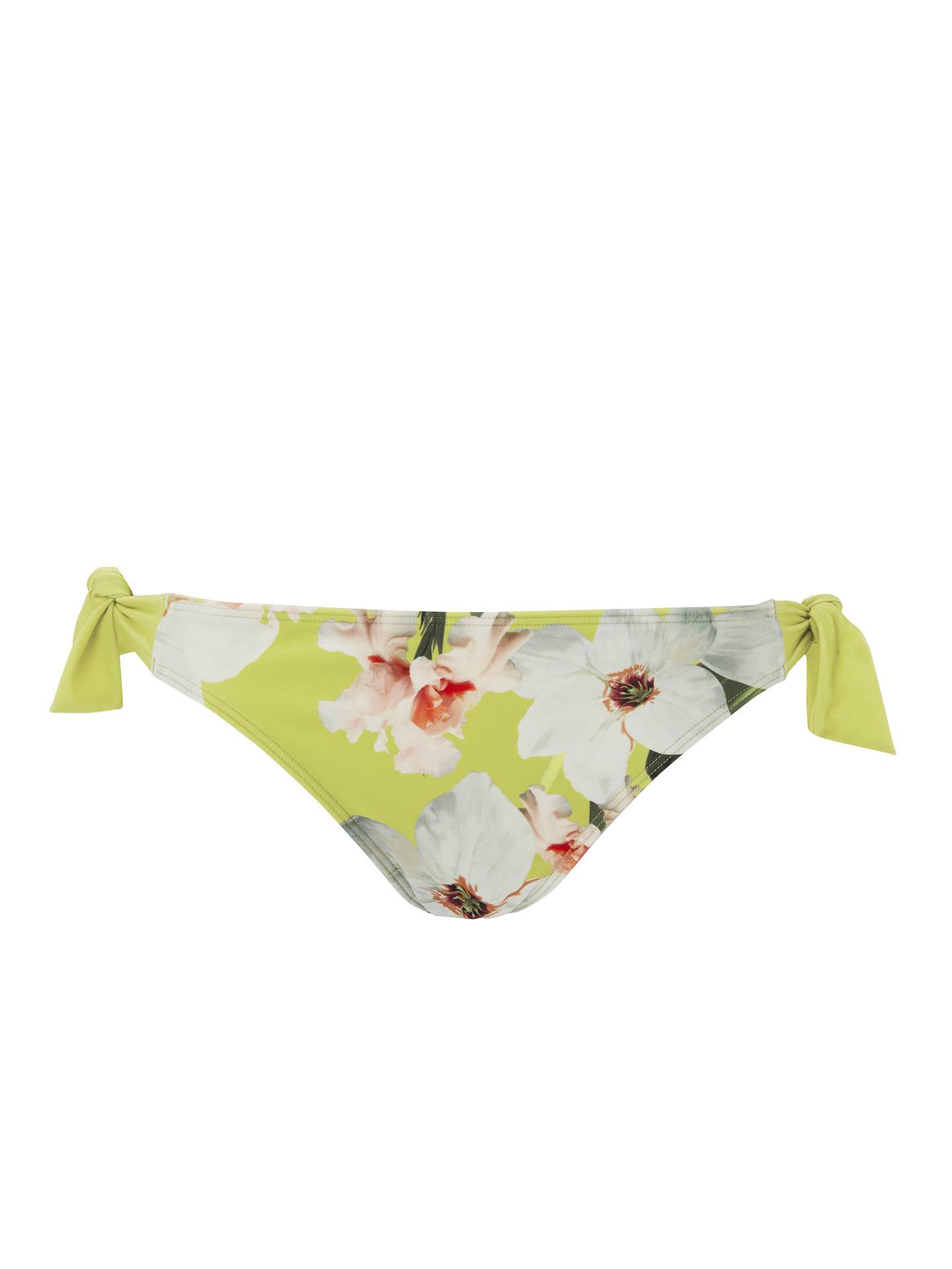 073a0f730fd ... Buy Ted Baker Tuello Chatsworth Bloom Tie Side Bikini Briefs,  Green/Multi, 1 ...