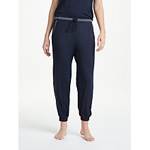 Buy DKNY Essential Lounge Jogger Bottoms, Navy Online at johnlewis.com