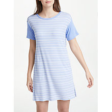 Buy DKNY City Chic Stripe Nightdress, Blue Online at johnlewis.com