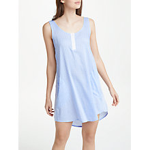 Buy DKNY Print Chemise, Blue/Multi Online at johnlewis.com