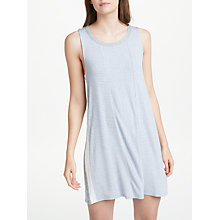 Buy DKNY Lounge Essential Stripe Chemise, Blue/Grey Online at johnlewis.com