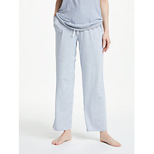 Buy DKNY Lounge Essential Stripe Pyjama Bottoms, Grey Online at johnlewis.com