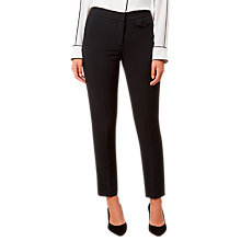 Buy Hobbs Alessia Tailored Trousers, Black Online at johnlewis.com