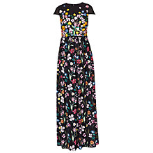 Buy Ted Baker Mariz Hampton Maxi Dress, Black Online at johnlewis.com