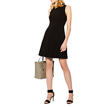 Buy Karen Millen Seam Detail Dress, Black Online at johnlewis.com