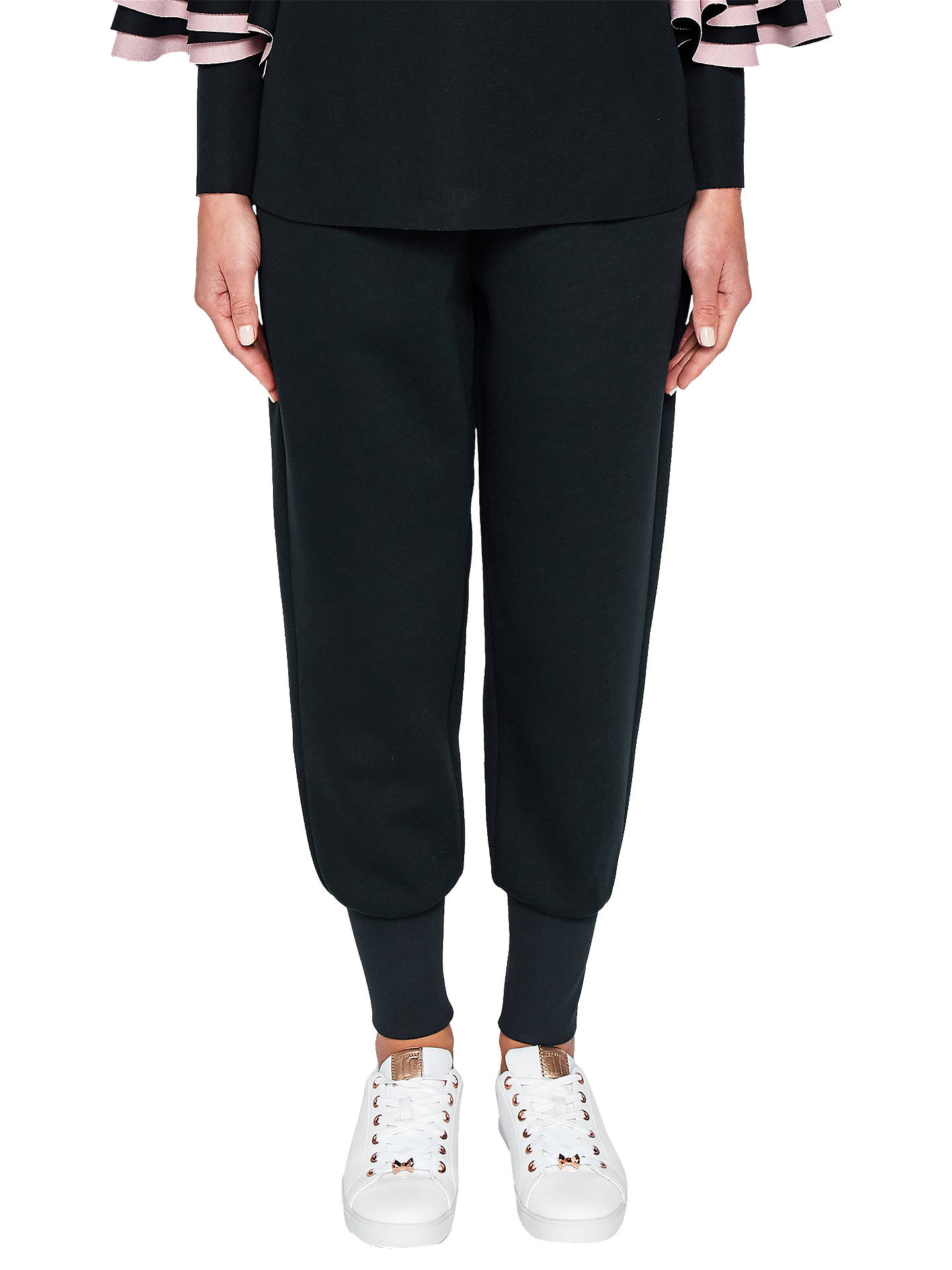 20ded2882 Ted Baker Ted Says Relax Radonna Ribbed Cuff Joggers at John Lewis ...