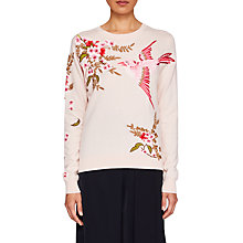 Buy Ted Baker Peach Blossom Jumper, Pink Online at johnlewis.com