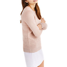 Buy Oasis Ombre Knit Jumper, Mid Neutral Online at johnlewis.com