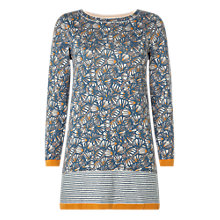 Buy White Stuff Day Dreaming Tunic Dress, Blue Online at johnlewis.com