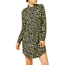 Buy Warehouse Mini Marigold Shirt Dress, Mustard Online at johnlewis.com