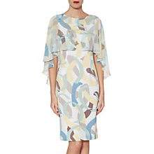 Buy Gina Bacconi Maisie Dress and Cape, Multi Online at johnlewis.com