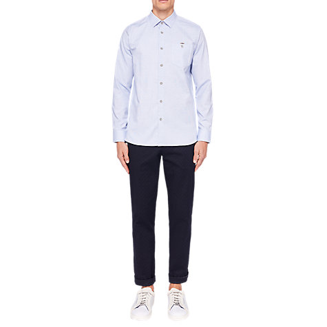 Buy Ted Baker Stapal Long Sleeve Shirt Online at johnlewis.com