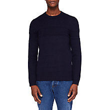 Buy Ted Baker Blubery Jumper, Navy Online at johnlewis.com