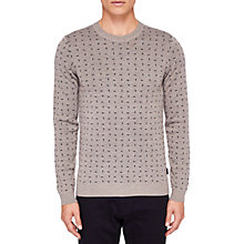 Buy Ted Baker Crazy Jumper, Natural Online at johnlewis.com