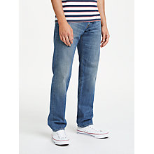 Buy Edwin ED-55 Regular Tapered Jeans, Satomi Wash Online at johnlewis.com