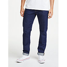 Buy Edwin ED-80 Slim Tapered Jeans, Rinse Online at johnlewis.com