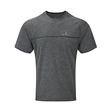 Buy Ronhill Everyday Short Sleeve Running T-Shirt, Grey Marl Online at johnlewis.com