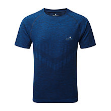 Buy Ronhill Infinity Marathon Short Sleeve Top, Electric Blue Marl Online at johnlewis.com