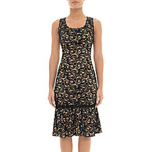 Buy Adrianna Papell Sophia Lace Dress, Black Online at johnlewis.com