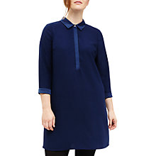 Buy Studio 8 Emily Shirt Dress, Blue Online at johnlewis.com