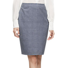 Buy Reiss Chelton Pencil Skirt, Blue Online at johnlewis.com