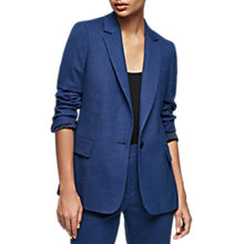 Buy Reiss Malani Tailored Jacket, Bright Blue Online at johnlewis.com