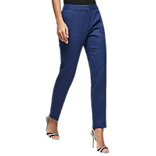 Buy Reiss Malani Tailored Trousers, Bright Blue Online at johnlewis.com