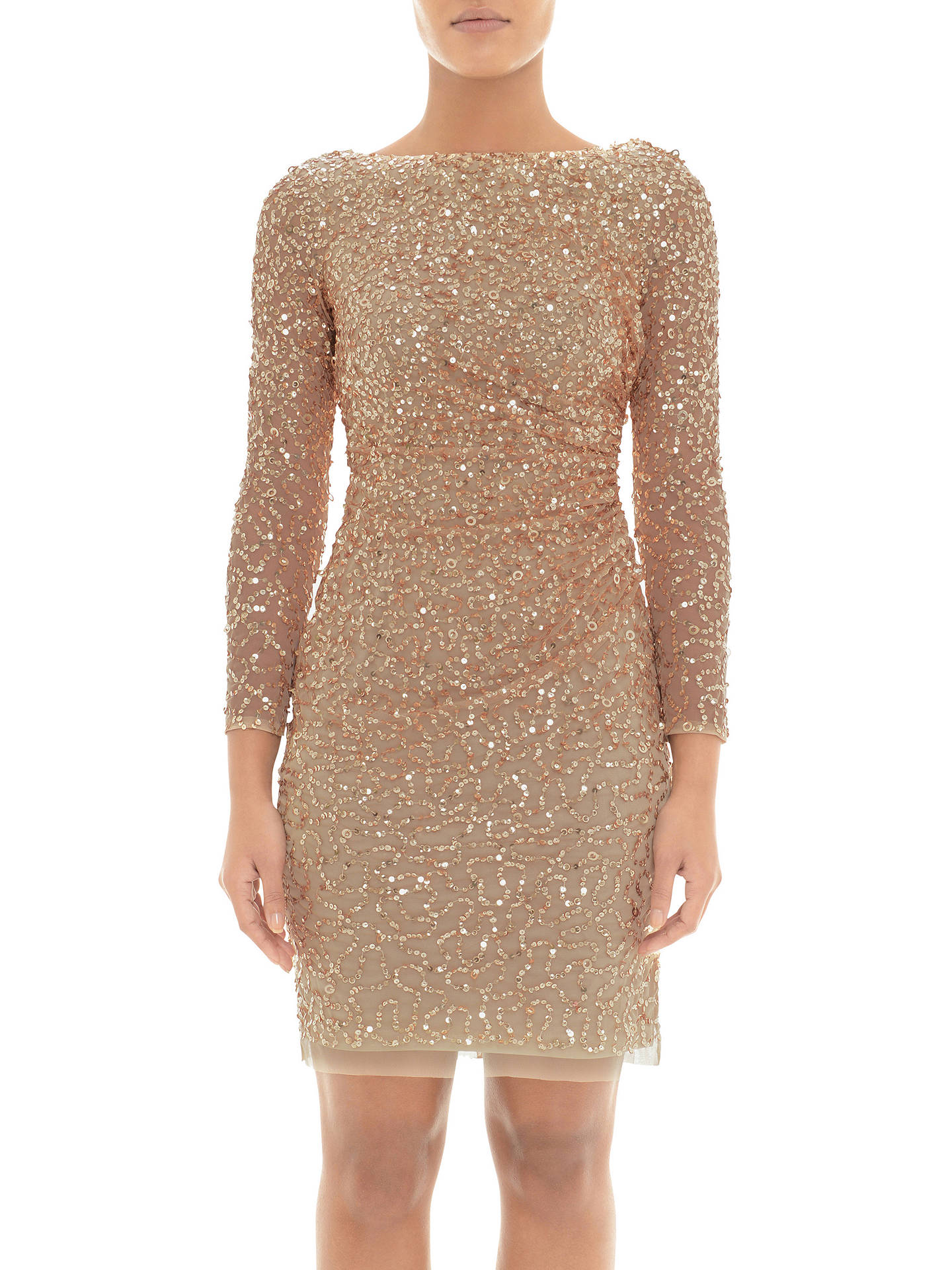 084e35e218a6a Buy Adrianna Papell Sequin Cowl Back Dress