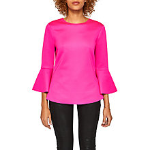 Buy Ted Baker Gigih Bell Sleeve Top Online at johnlewis.com