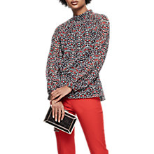Buy Reiss Sabri Long Sleeve Printed Top, Multi Online at johnlewis.com