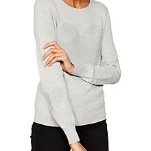Buy Mint Velvet Ottoman Heart Crew Neck Jumper Online at johnlewis.com