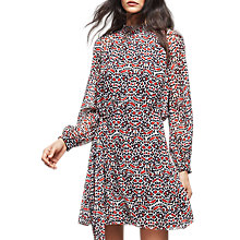 Buy Reiss Avis Tie Waist Printed Dress, Multi Online at johnlewis.com