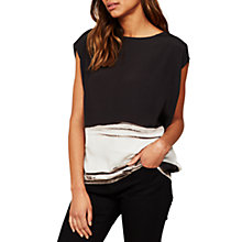 Buy Mint Velvet Pixie Print Cocoon T-Shirt, Multi Online at johnlewis.com