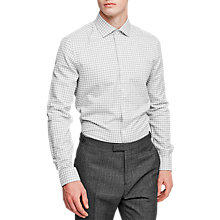 Buy Reiss Lindstrom Gingham Linen Cotton Shirt Online at johnlewis.com