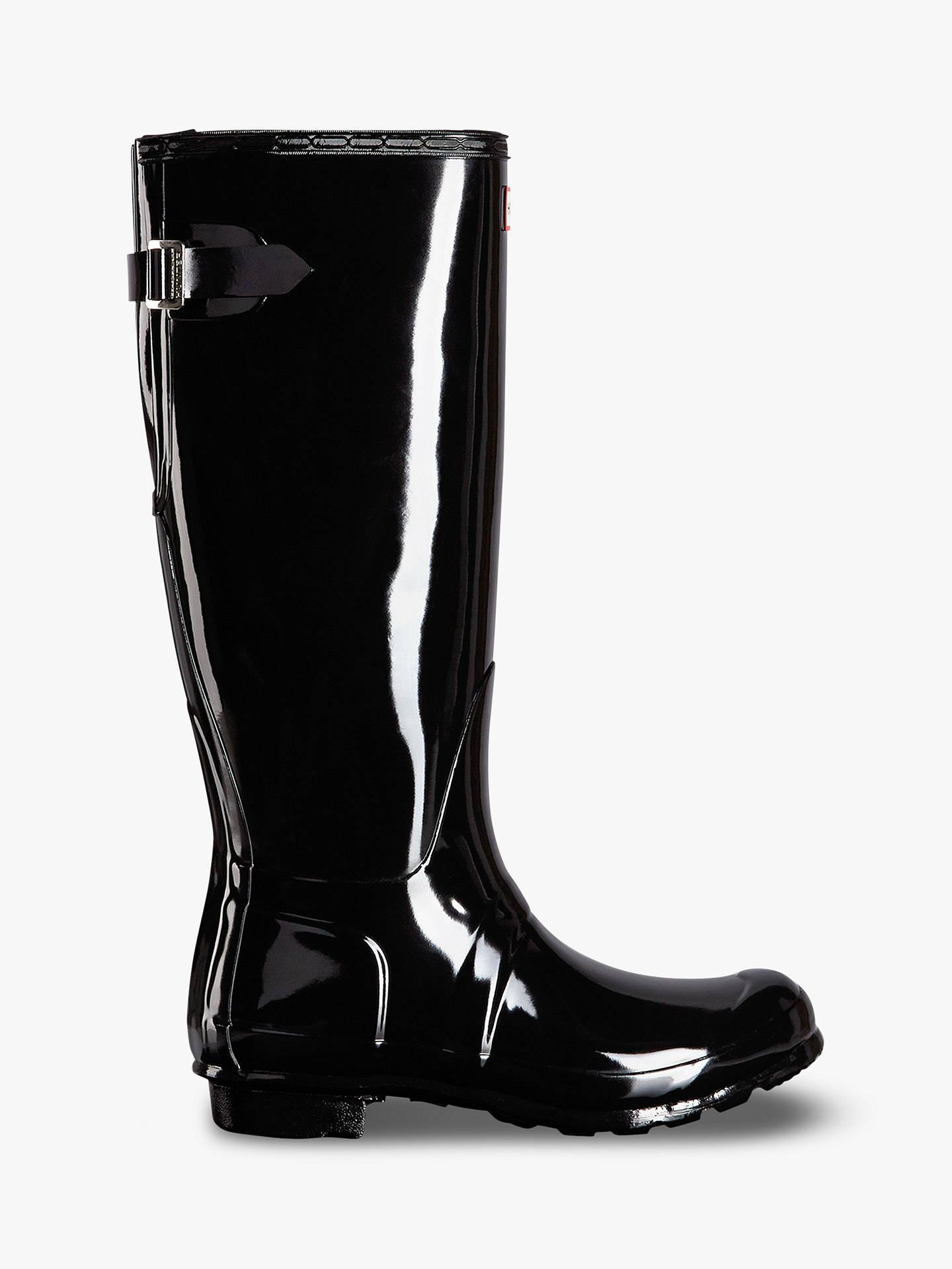 064def3a5d8 Buy Hunter Women s Original Waterproof Tall Adjustable Gloss Wellington  Boots