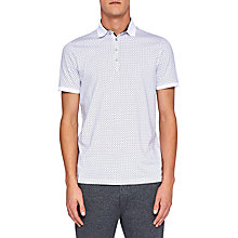 Buy Ted Baker Boxer Geometric Print Polo Shirt Online at johnlewis.com