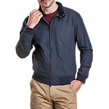 Buy Barbour Royston Harrington Jacket, Navy Online at johnlewis.com