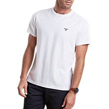 Buy Barbour Sports Cotton Short Sleeve T-Shirt Online at johnlewis.com