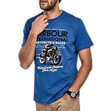 Buy Barbour International Dyno Graphic Print T-Shirt Online at johnlewis.com