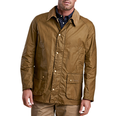 Product photo of Barbour lifestyle waxed cotton field jacket sand
