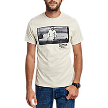 Buy Barbour International Racing Graphic Print T-Shirt Online at johnlewis.com