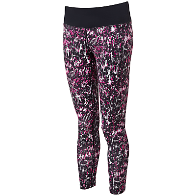 Ronhill Momentum Running Tights, Razzmatazz Botanical