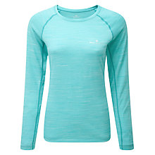 Buy Ronhill Momentum Long Sleeve Running T-Shirt, Jade Marl Online at johnlewis.com