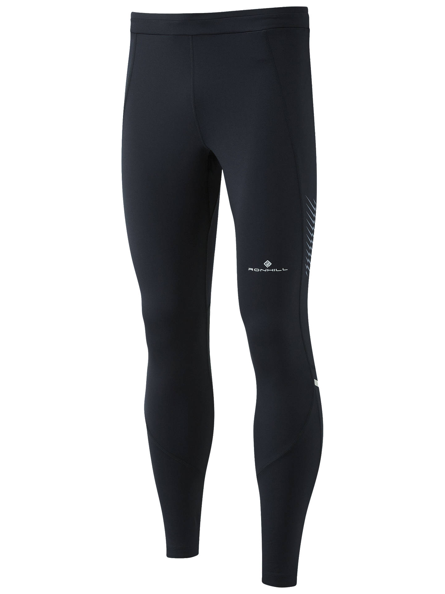 BuyRonhill Stride Stretch Running Tights, Black, S Online at johnlewis.com