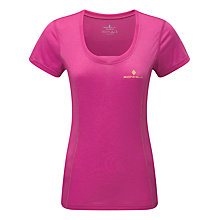 Buy Ronhill Stride Short Sleeve Running Top, Razzmatazz Online at johnlewis.com