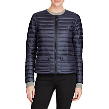 Buy Polo Ralph Lauren Quilted Puffer Down Jacket, Navy Online at johnlewis.com